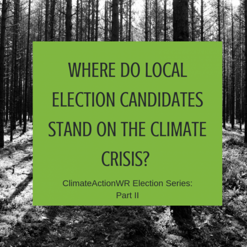 Where do Local Election Candidates stand on the Climate Crisis?