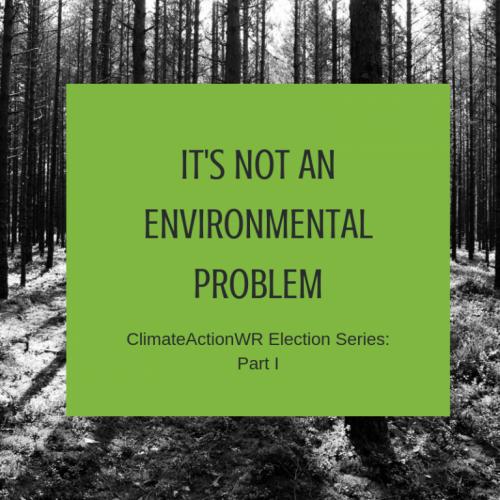 It's Not an Environmental Problem