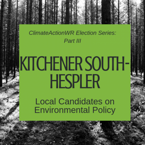 Kitchener South-Hespler – Local Candidates on Environmental Policy