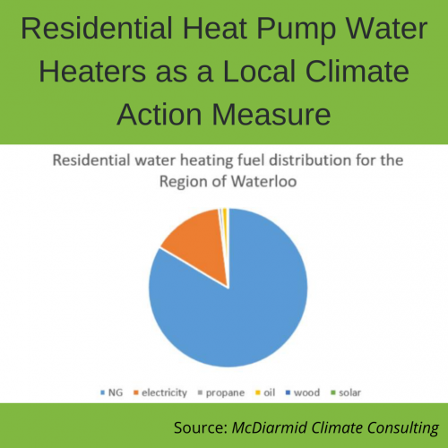 Residential Heat Pump Water Heaters as a Local Climate Action Measure